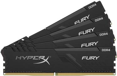Kingston HyperX Fury Black 64GB 2666MHz CL16 DDR4 KIT OF 4 HX426C16FB4K4/64