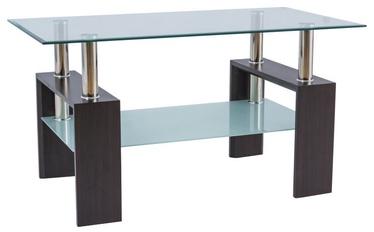 Kafijas galdiņš Signal Meble Lisa III Venge, 1100x600x600 mm