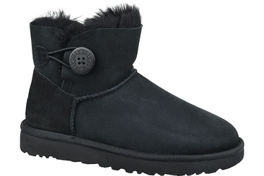 UGG Mini Bailey Button II Boots 1016422 Black 36