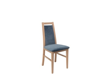Ēdamistabas krēsls Black Red White Salsa Chair Blue/Sonoma Oak