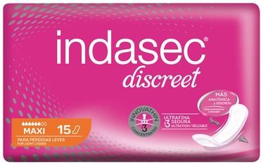 Indasec Discreet Pads 15pcs Maxi