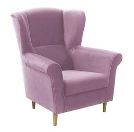 Atzveltnes krēsls Idzczak Meble Loft 1 Pink, 88x80x105 cm