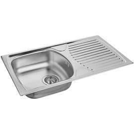 Alveus Basic 170 Sink with Siphon/Faucet 780x435mm