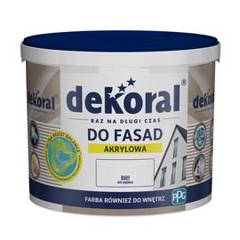Krāsa fasādēm Dekoral Polinit, 3 l, balta