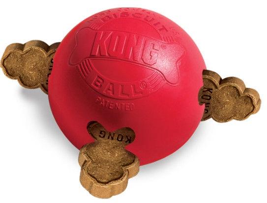 Игрушка для собаки Kong Rubber Bisquit Ball Large