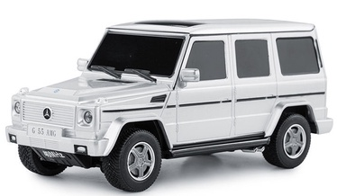 Automašīnas Rastar R/C 1:24 Mercedes-Benz G55 AMG 30500 Silver