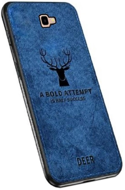 Mocco Deer Back Case For Samsung Galaxy J4 Plus J415 Blue