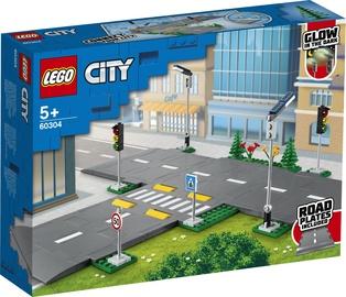 Constructor LEGO City Road Plates 60304