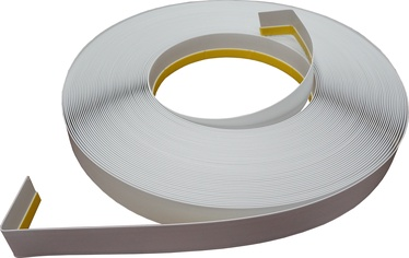 Apdares lente Soudal Window Trim Strip PVC With Soft Edge 30mmx50m