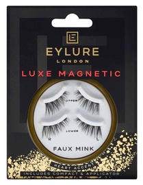 Eylure Luxe Magnetic Mink Effect Heart Accent Lashes