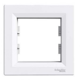 Рамка Schneider Electric Asfora Single Frame EPH5800121 White