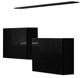 ASM Switch SB I Hanging Cabinet/Shelf Set Black