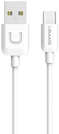 Usams U-Turn USB To USB Type-C Cable 1m White