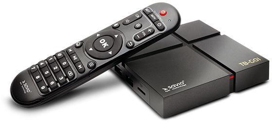 Savio Smart TV Box TB-G01 Gold