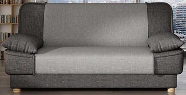 Dīvāngulta Platan Maxim 02 Grey/Light Grey, 188 x 85 x 90 cm