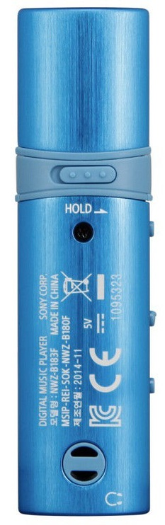 Sony NWZ-B183F/L 4GB Blue