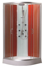Dušas kabīne Besk BAMB-102 APPS, bez paliktņa, 900x900x2000 mm