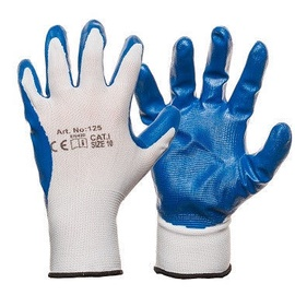 DD Nylon Knitted Gloves With Smooth Nitrile Coating 7