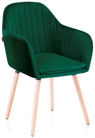 Homede Lacelle Chairs 2pcs Bottle Green