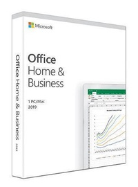 Microsoft Office Home and Business 2019 Latvian Medialess Box