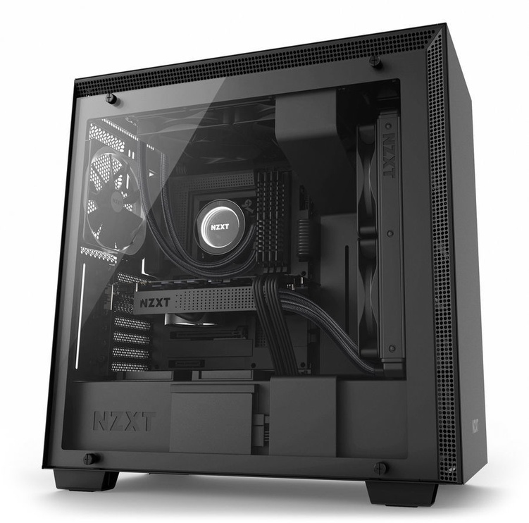 NZXT H700 Mid Tower E-ATX Black