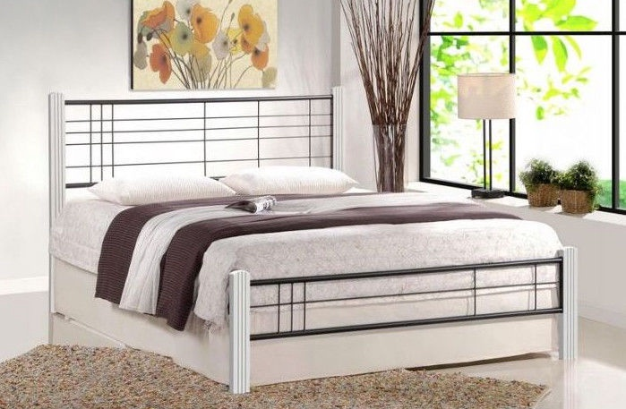 Halmar Bed Vera 160 White