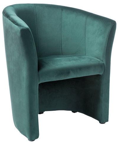 Atzveltnes krēsls Signal Meble TM-1 Velvet Green, 67x47x76 cm