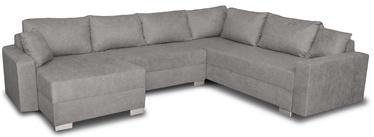 Stūra dīvāns Platan Gustaw Soro 93 Grey, 315 x 135 x 87 cm