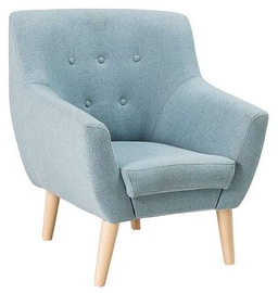 Atzveltnes krēsls Signal Meble Nordic 1 Savana 72 Blue, 76x75x90 cm