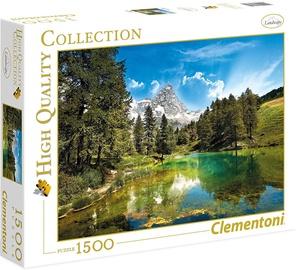 Пазл Clementoni Blue Lake 31680, 1500 шт.