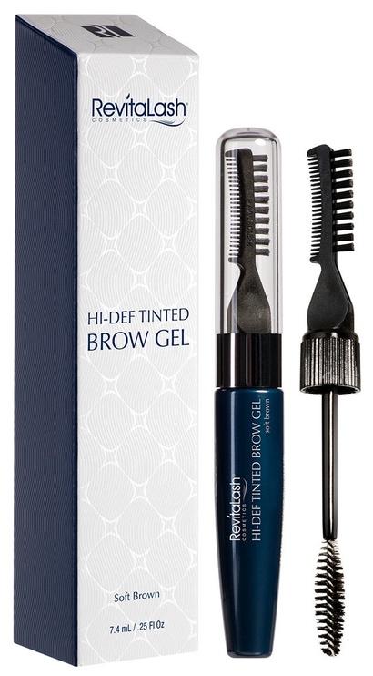 Revitalash Hi-Def Tinted Brow Gel 7.4ml Soft Brown