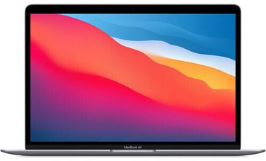 Ноутбук Apple MacBook Air Retina / M1 / SWE / Space Gray, 8GB/256GB, 13.3″
