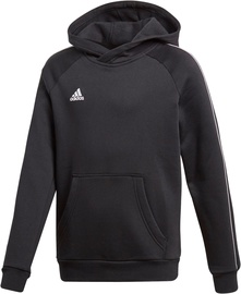 Adidas Core 18 Hoodie JR CE9069 Black 140cm