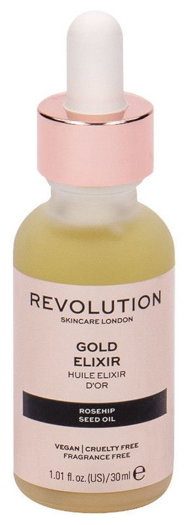 Makeup Revolution London Rosehip Seed Oil Gold Elixir 30ml