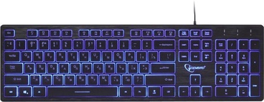 Gembird UML3-01 Multimedia Keyboard RU Black