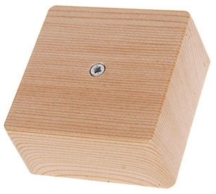 Verners Junction Box 340104 Wood