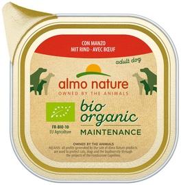 Влажный корм для собак (консервы) Almo Nature Bio Organic Maintenance Beef 100g