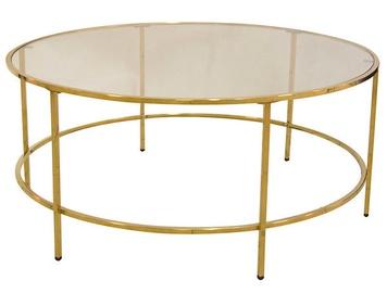 Kafijas galdiņš Verners Karlina Gold, 900x900x400 mm