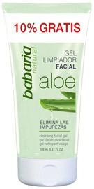 Kosmētikas noņemšanas līdzeklis Babaria Aloe Vera Cleansing Facial Gel, 165 ml