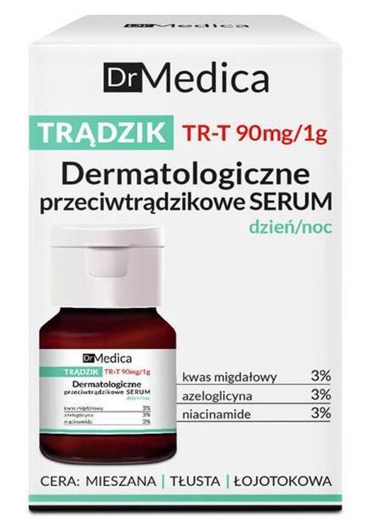 Sejas serums Bielenda Dr. Medica Acne Dermatological Anti-Acne Serum Day & Night, 30 ml