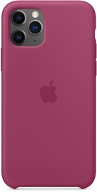 Apple Silicone Back Case For Apple iPhone 11 Pro Pomegranate