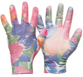 DD Nylon Colored Knitted Gloves With PU Coating 8