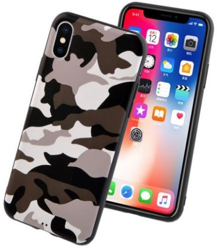 Mocco Ultra Back Case For Apple iPhone 7 Plus/8 Plus Army White
