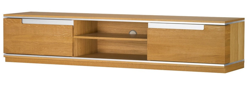 TV galds Szynaka Meble Torino 25 Oak, 1800x420x370 mm
