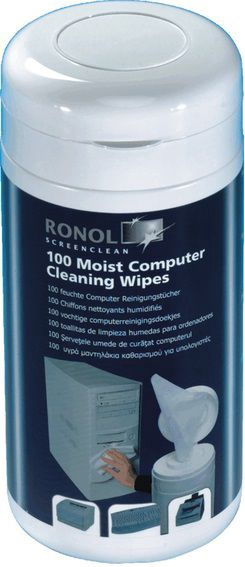 Ronol Moist Cleaning Wipes 100 pcs