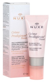 Acu krēms Nuxe Creme Prodigieuse Boost Multi Correction Eye Balm Gel, 15 ml
