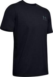 Under Armour Mens Sportstyle LC Back T-Shirt 1347880-001 Black XXL
