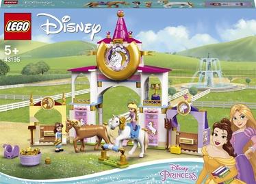 Конструктор LEGO Disney Princess Королевская конюшня Белль и Рапунцель 43195, 239 шт.