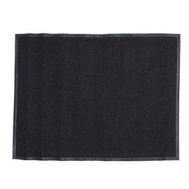 Придверный коврик Vinil Black, 90 x 120 cm