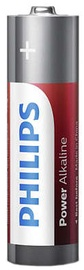 Philips Power Alkaline Batteries AA x4